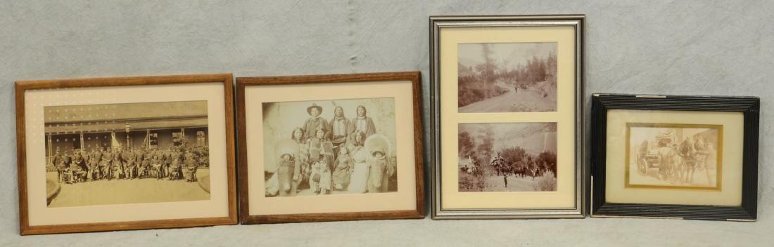Four Vintage Photographs