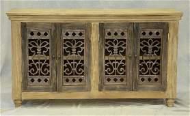 European farmhouse style sideboard