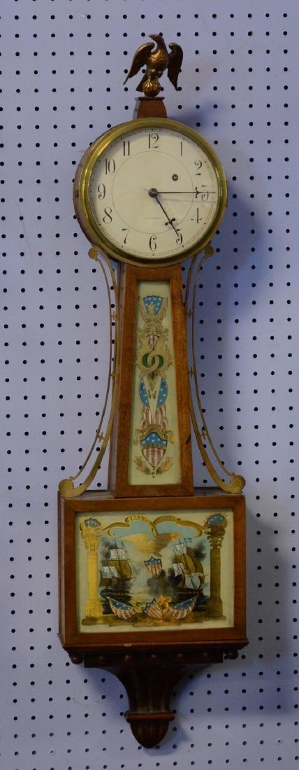 Waltham Clock Co,Willard style full size weight banjo