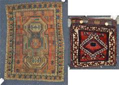Turkish Bag Face w/Caucasian Prayer Rug
