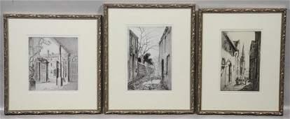 3 Elizabeth ONeill Verner Contemporary Lithographs