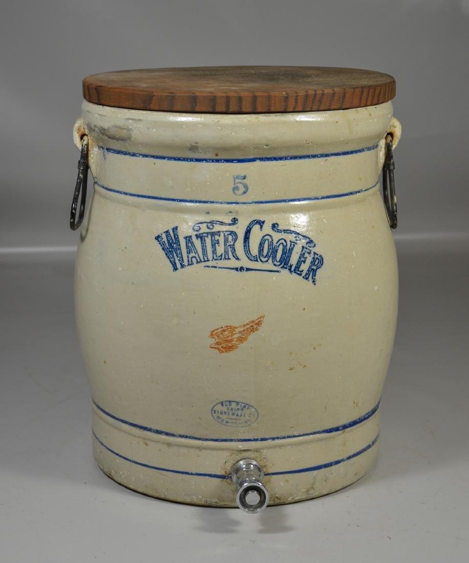 Redwing Union Stoneware Company 5-gallon water cooler