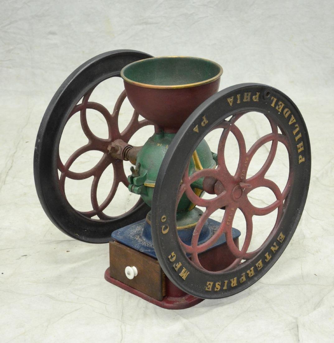 Cast iron Enterprise coffee grinder