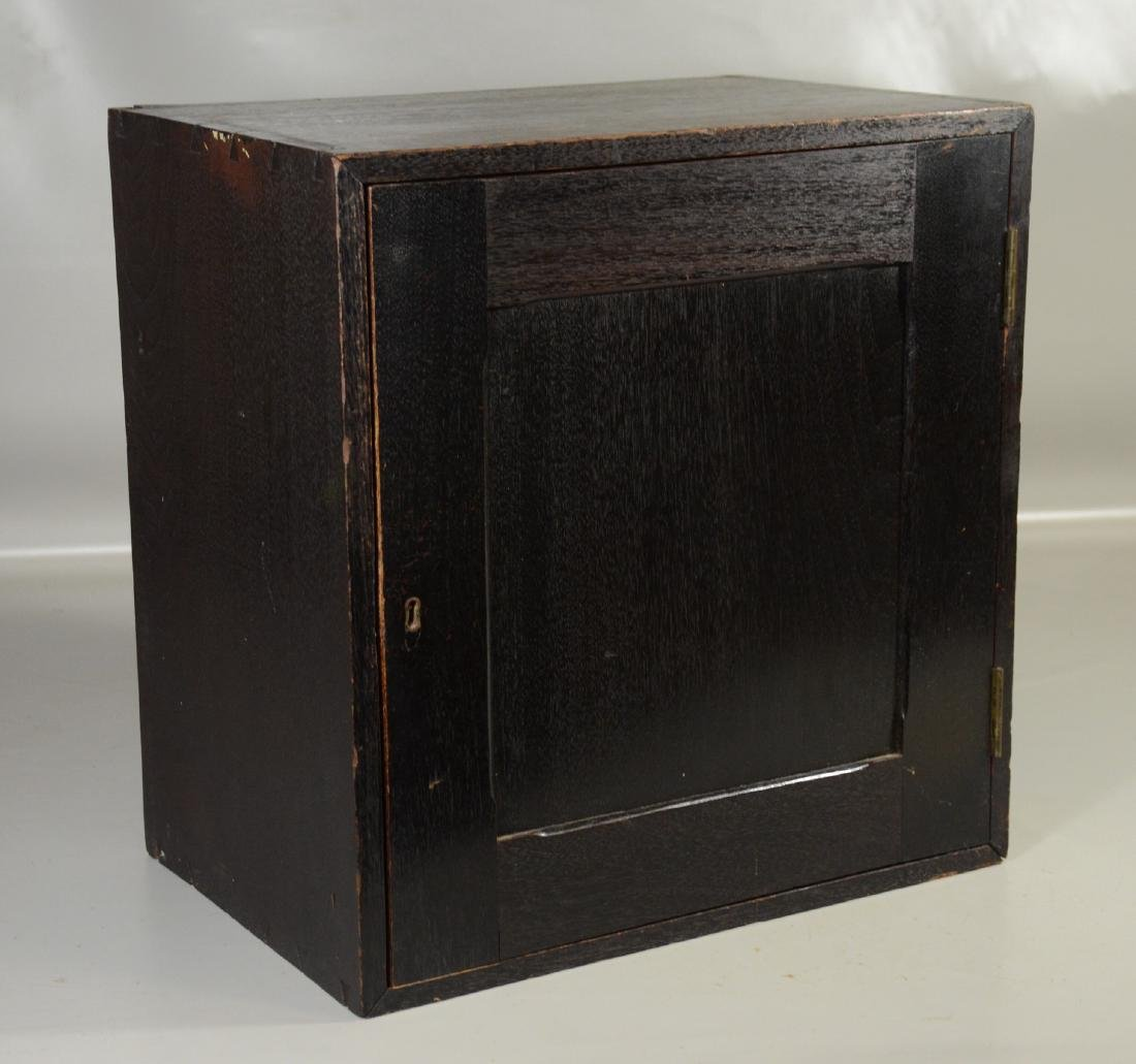 19th C Fitted Cabinet, Possibly Civil War