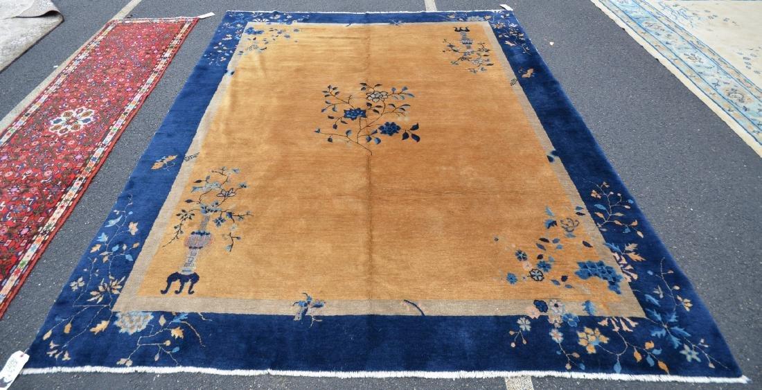 """8'5"""" x 9'5"""" Nichols Chinese rug"""