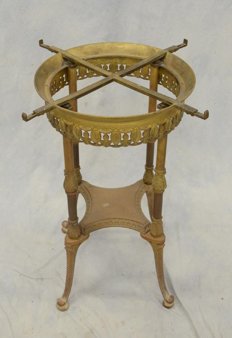 19th C Bronze Gueridon Center Table - 2