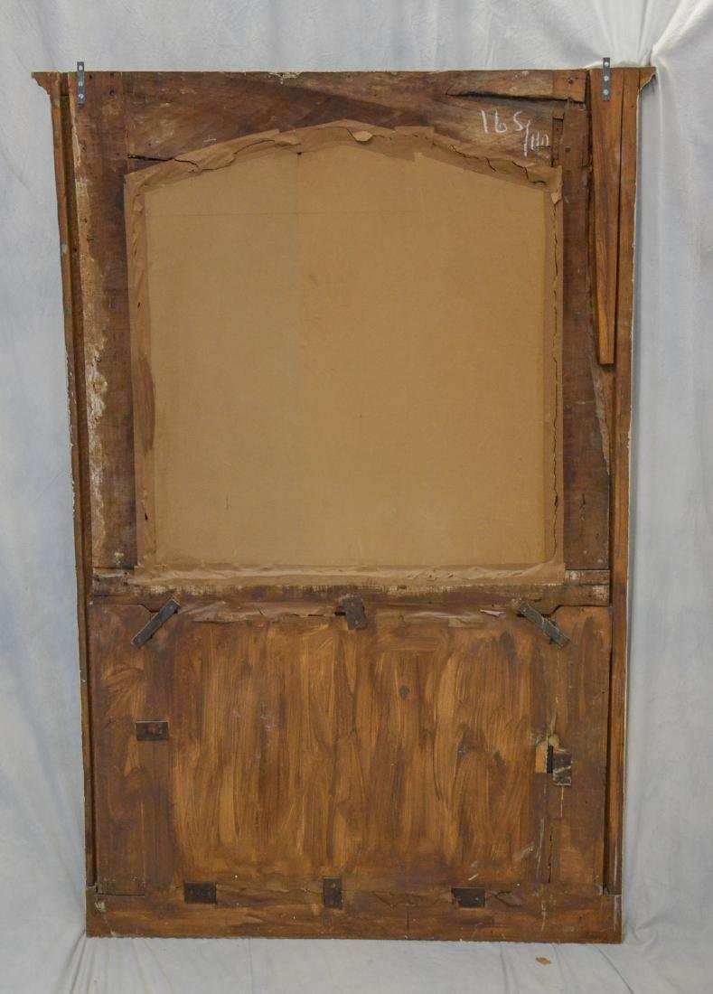 Antique French Trumeau Mirror - 6