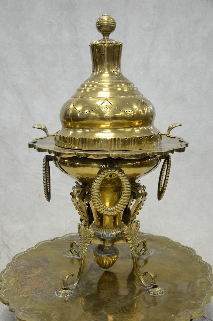Turkish brass brazier - 2