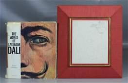 Original 1963 Salvador Dali of St George