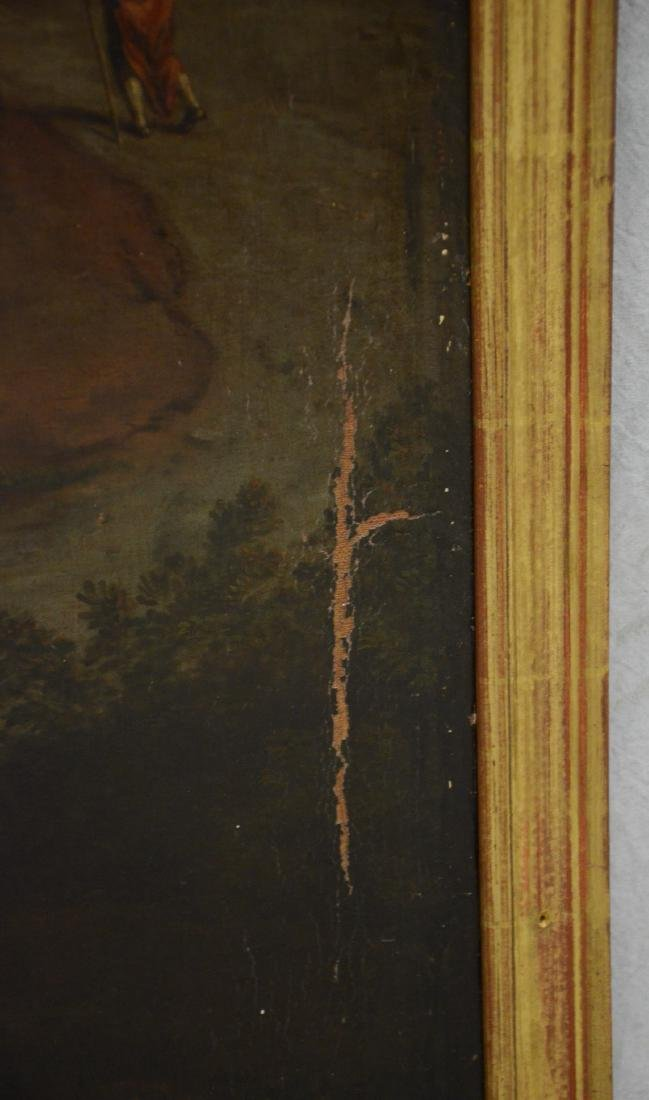 19th C Continental Landscape Painting - 10