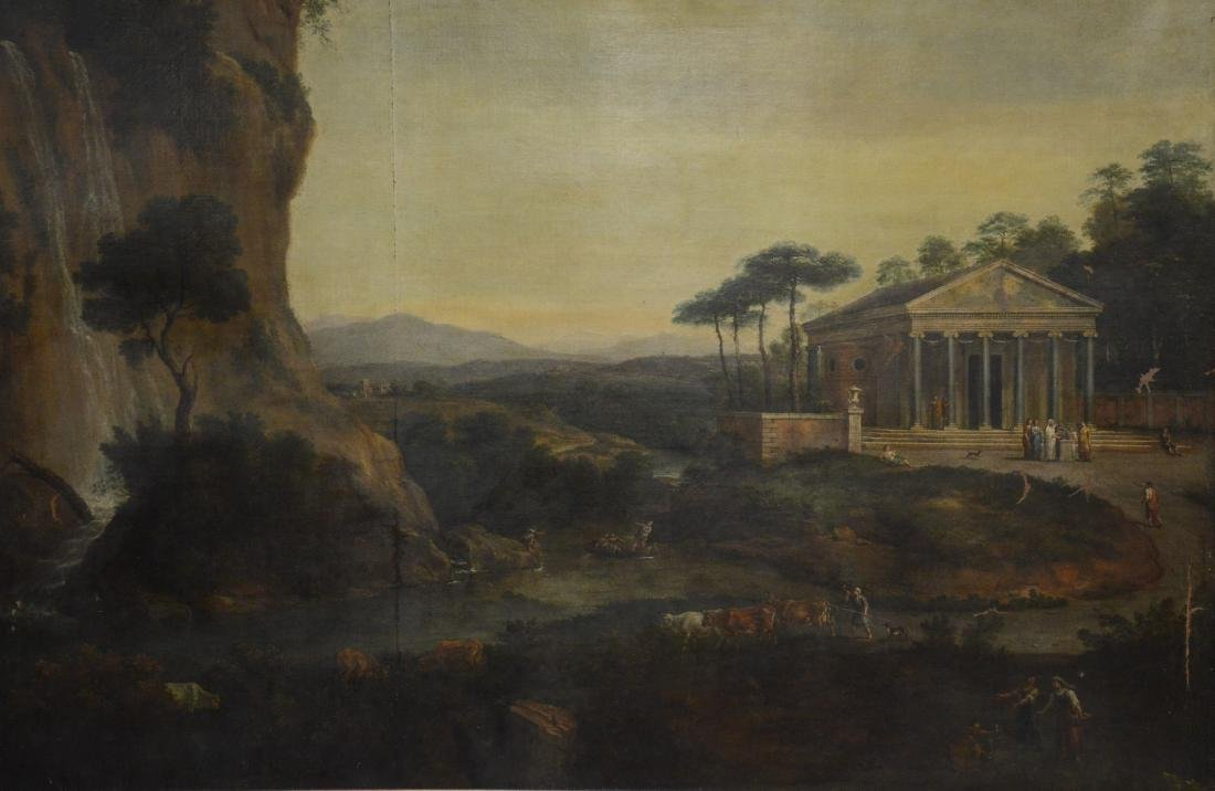 19th C Continental Landscape Painting