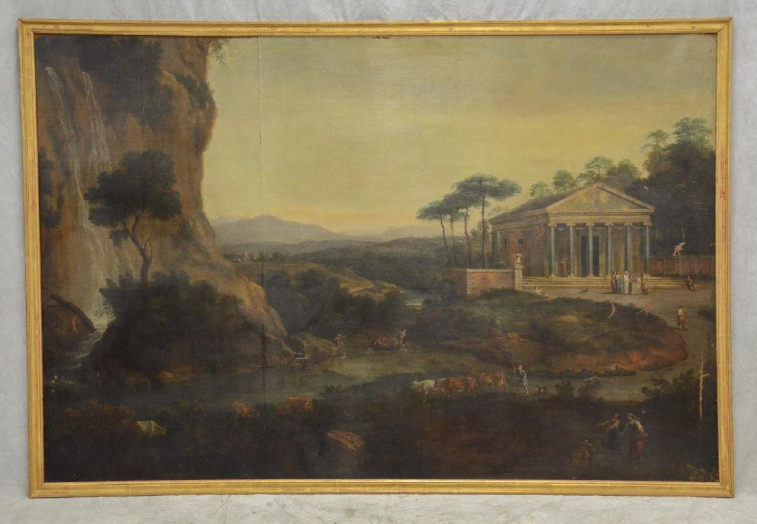 19th C Continental Landscape Painting - 2