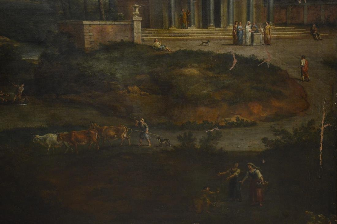 19th C Continental Landscape Painting - 4