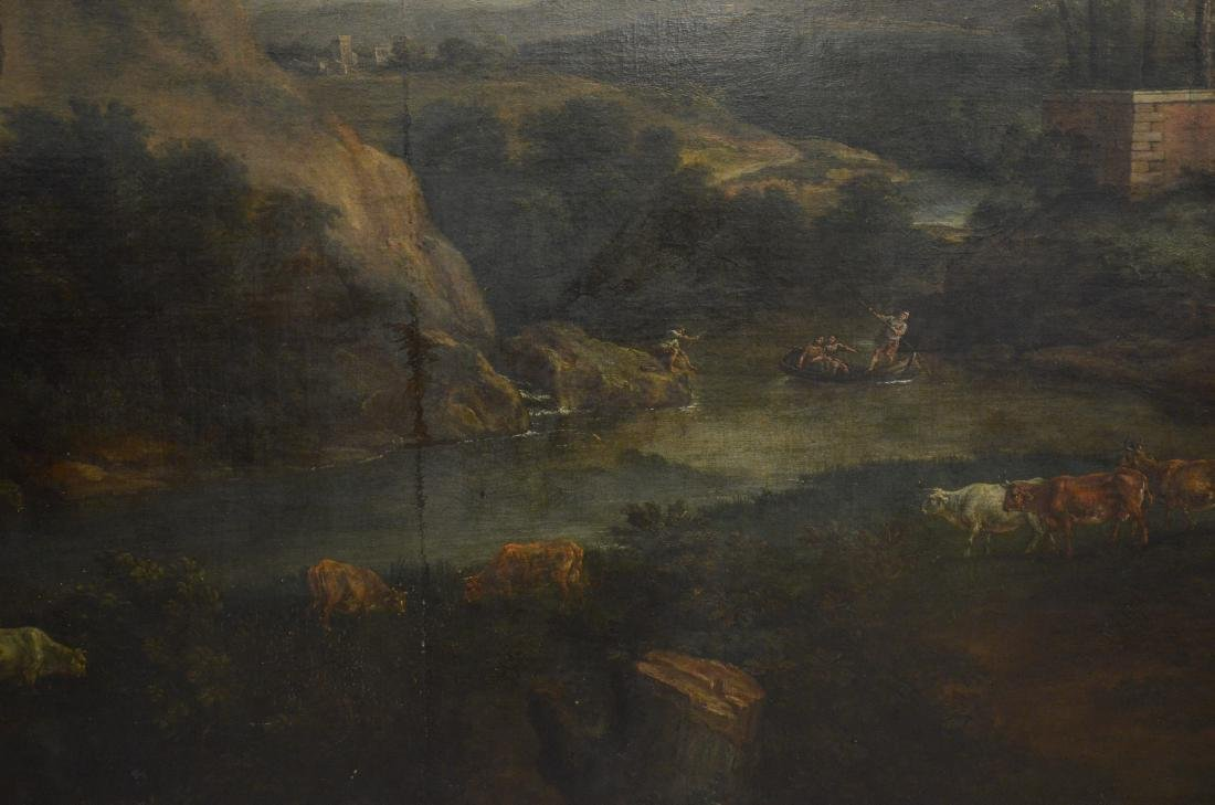 19th C Continental Landscape Painting - 5