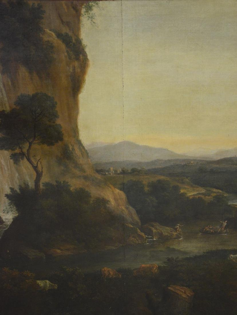 19th C Continental Landscape Painting - 6
