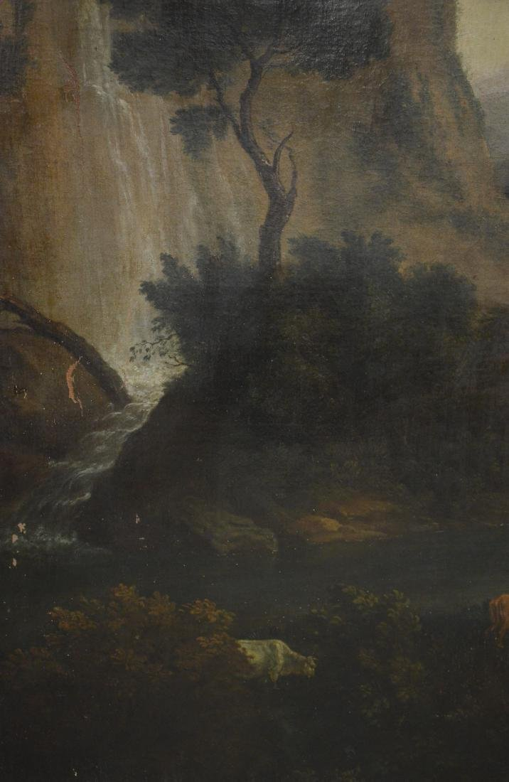 19th C Continental Landscape Painting - 7