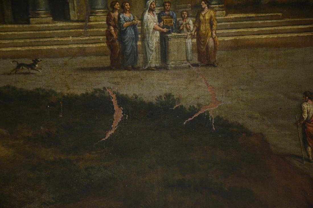 19th C Continental Landscape Painting - 9
