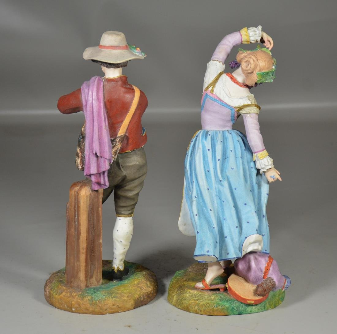 Pr French porcelain bisque figures, Jean Gille, Paris - 3