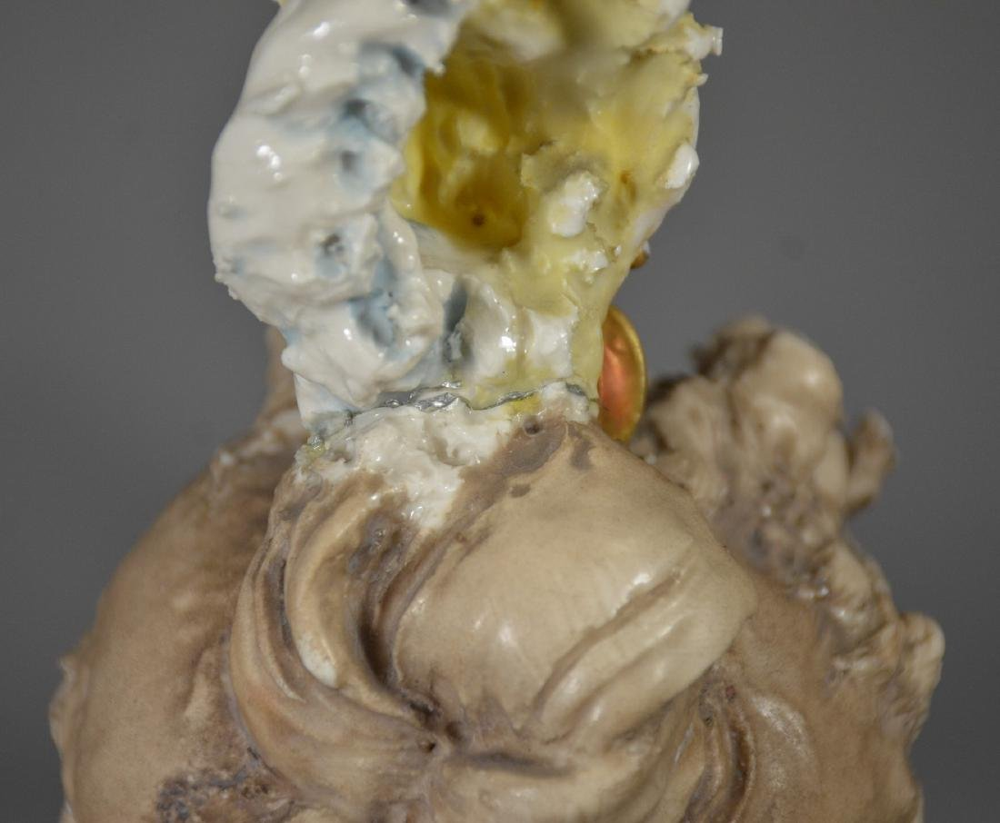 Continental Porcelain Bust of a Woman - 6
