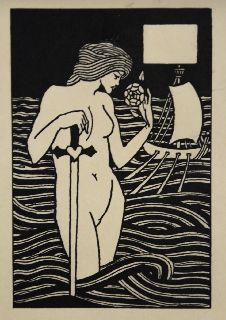 Aubrey Beardsley (English, 1872-1898), woodcut