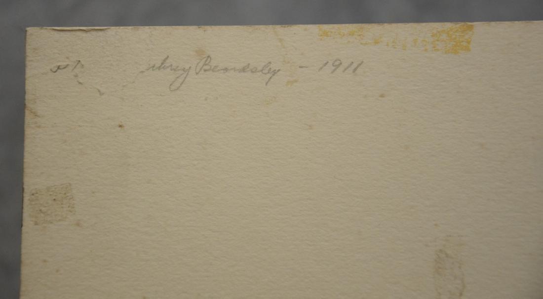 Aubrey Beardsley (English, 1872-1898), woodcut - 3