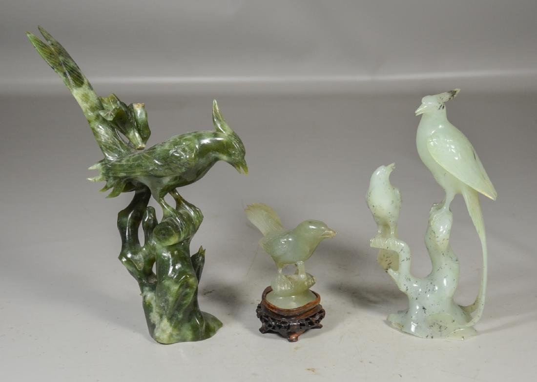 (5) Chinese Stone Carvings of Sage and Maiden - 5