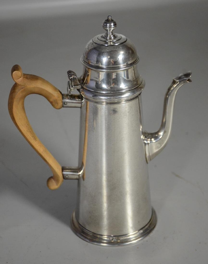 Sterling silver lighthouse coffee pot