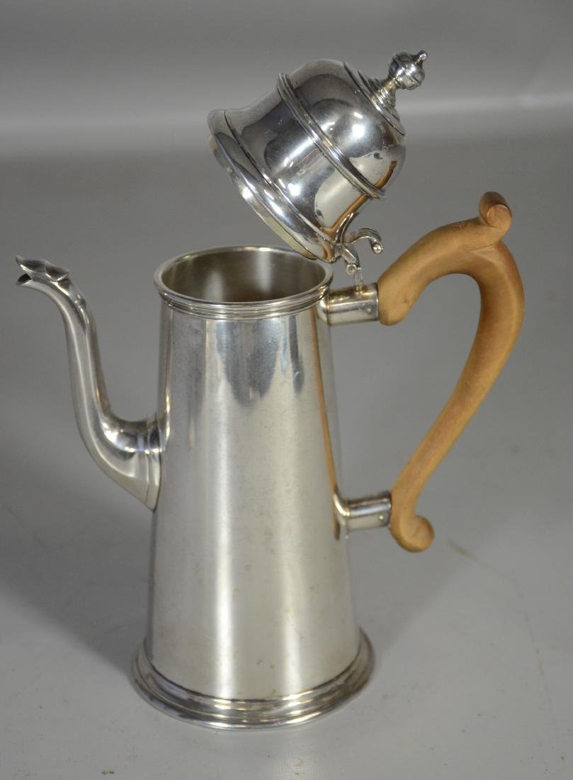 Sterling silver lighthouse coffee pot - 2