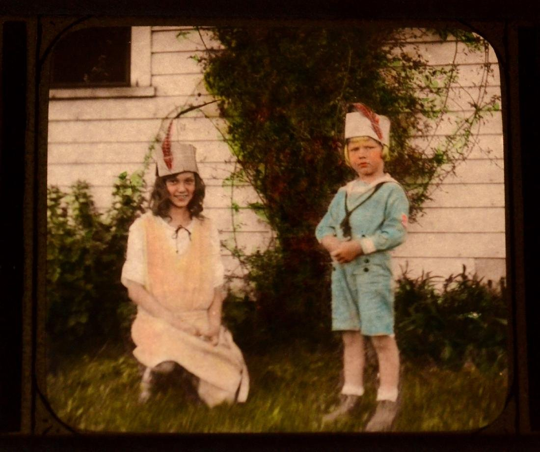 58 baby/child/family family glass negative photos - 5