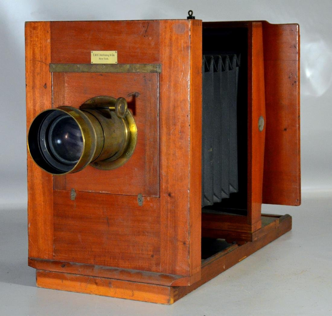 E & HT Anthony & Co large field camera - 7