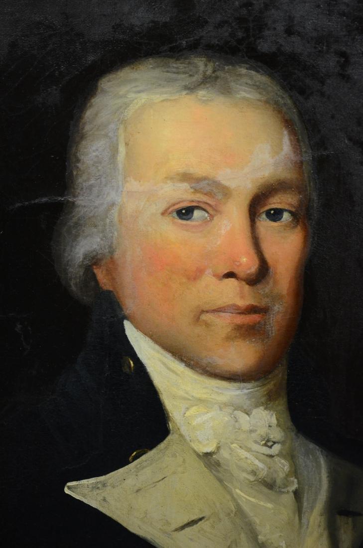 19th C American School Portrait of Gentleman - 2