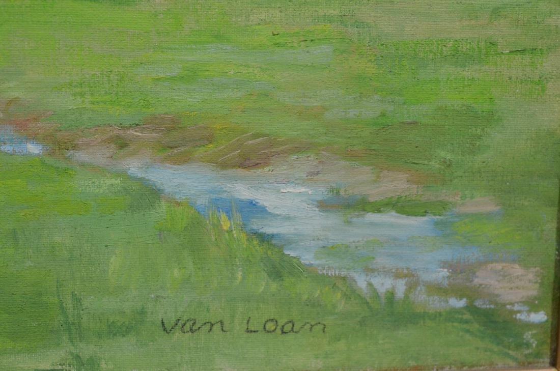 """Dorothy Van Loan, American, """"Chester Springs"""", o/c - 4"""