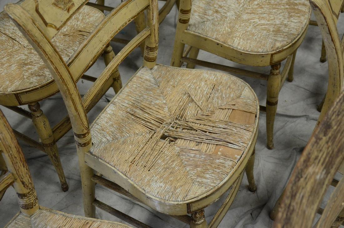 (11) Sheraton fancy chairs - 2