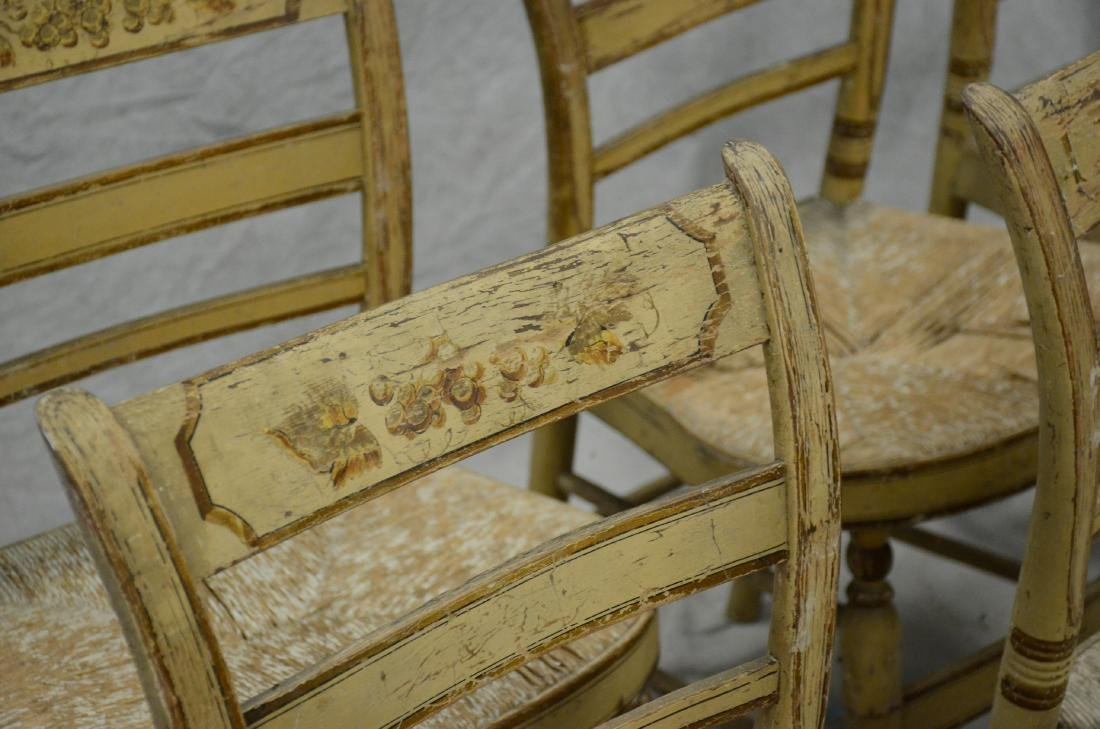 (11) Sheraton fancy chairs - 4