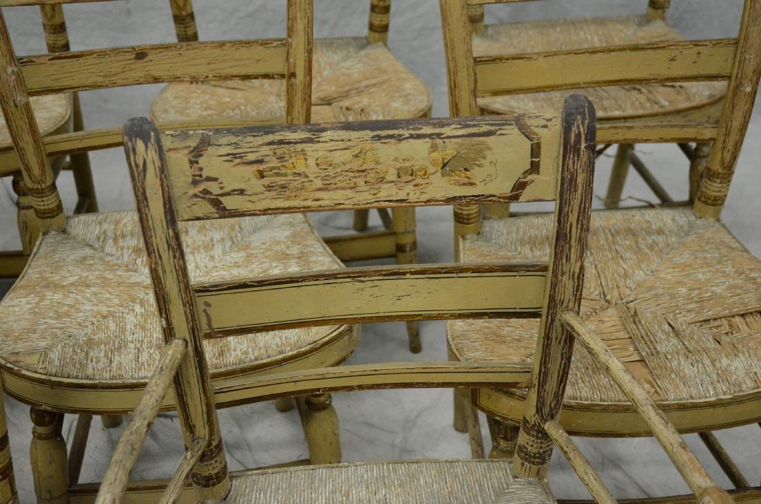 (11) Sheraton fancy chairs - 5
