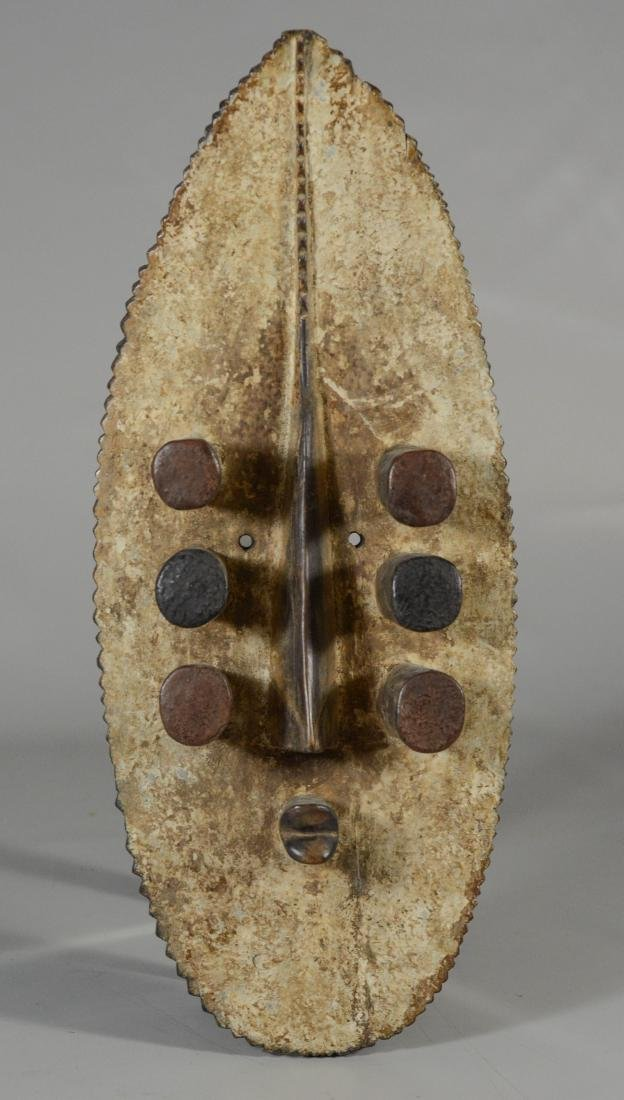 African Grebo Seer mask, Grebo means Leaping Monkey