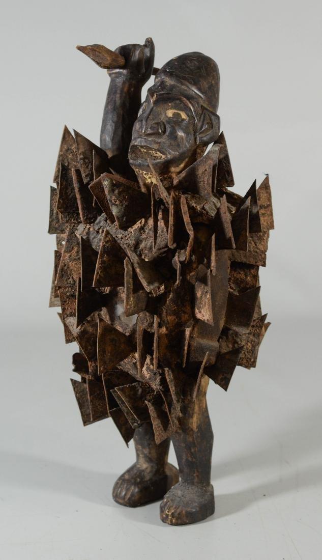 African Congo Nkisi Nkondi power figure (spirit),