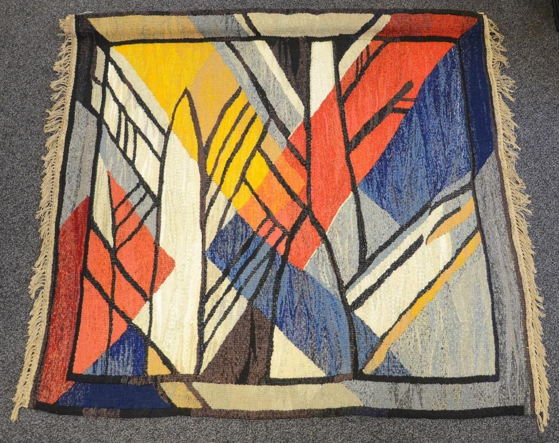 "Handwoven tapestry "" Ray of Light"", by Ukrainian fiber"