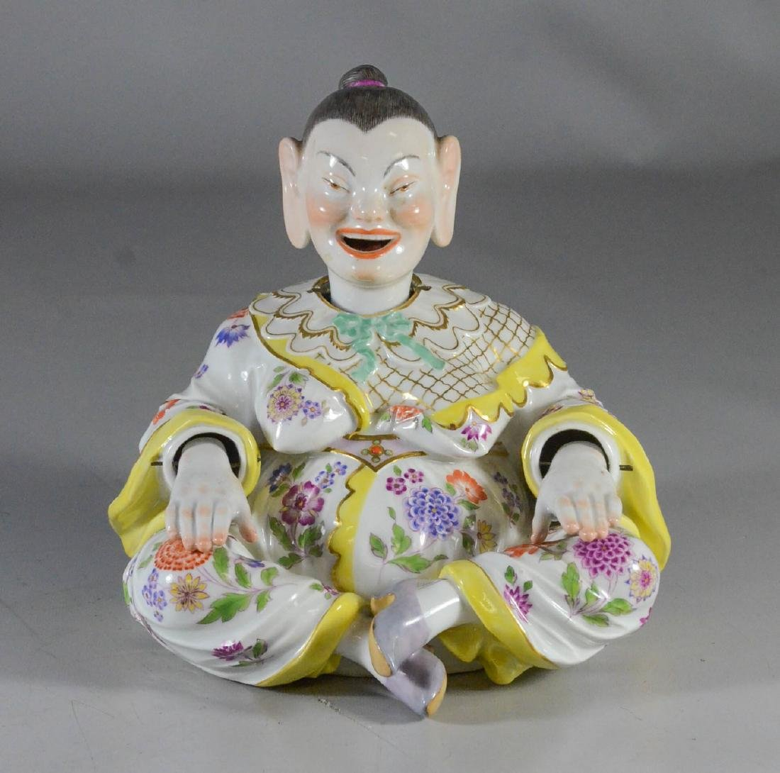 Meissen figure of a 'Nodding Pagoda', late 19th C