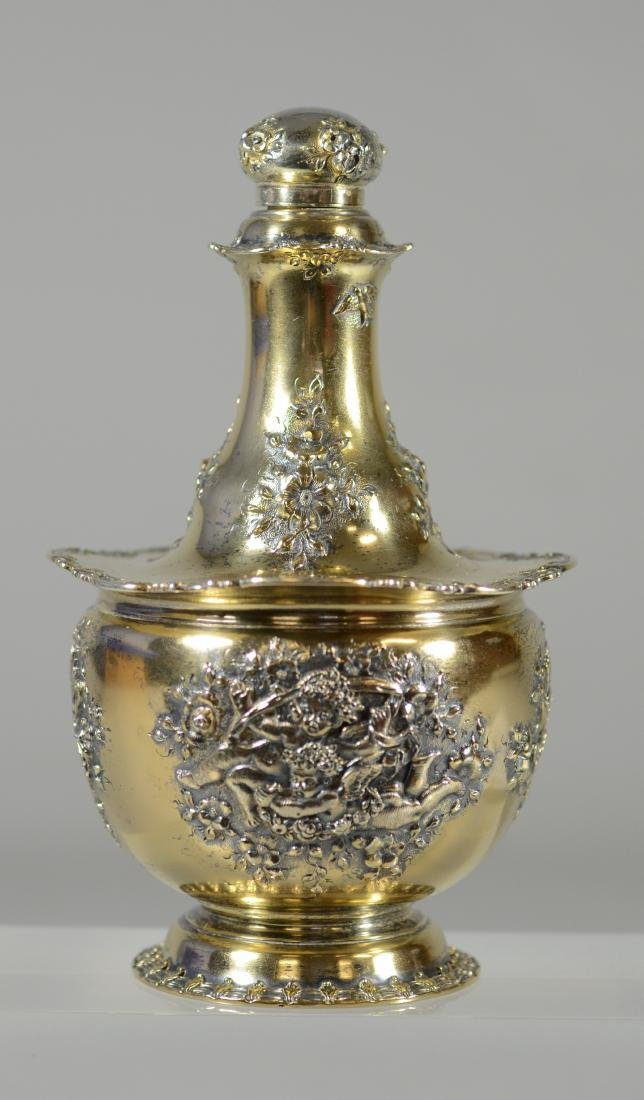 Tiffany & Co, Makers sterling silver bottle