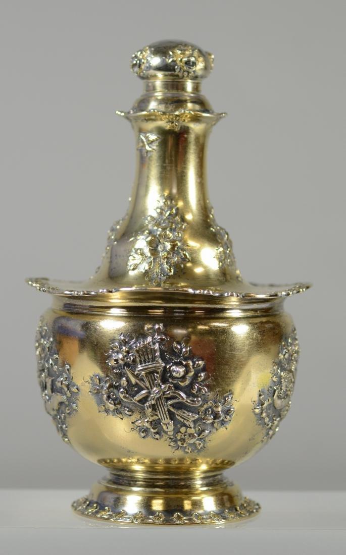 Tiffany & Co, Makers sterling silver bottle - 2