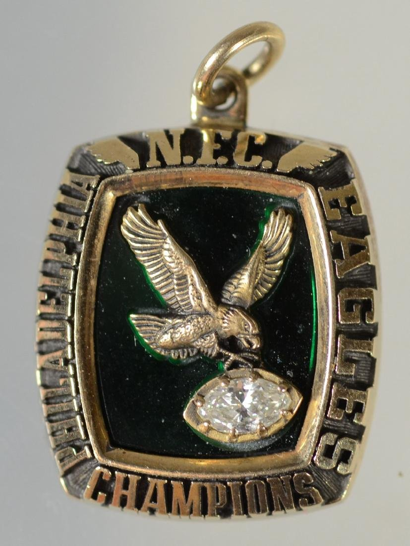 10K YG 1980-81 Philadelphia Eagles NFC Championship