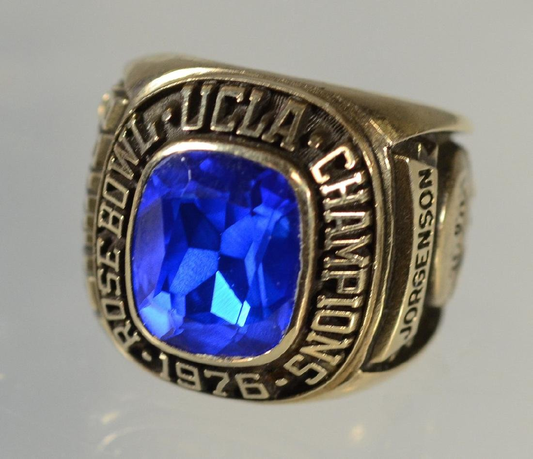 10K YG 1976 UCLA Rose Bowl Championship ring