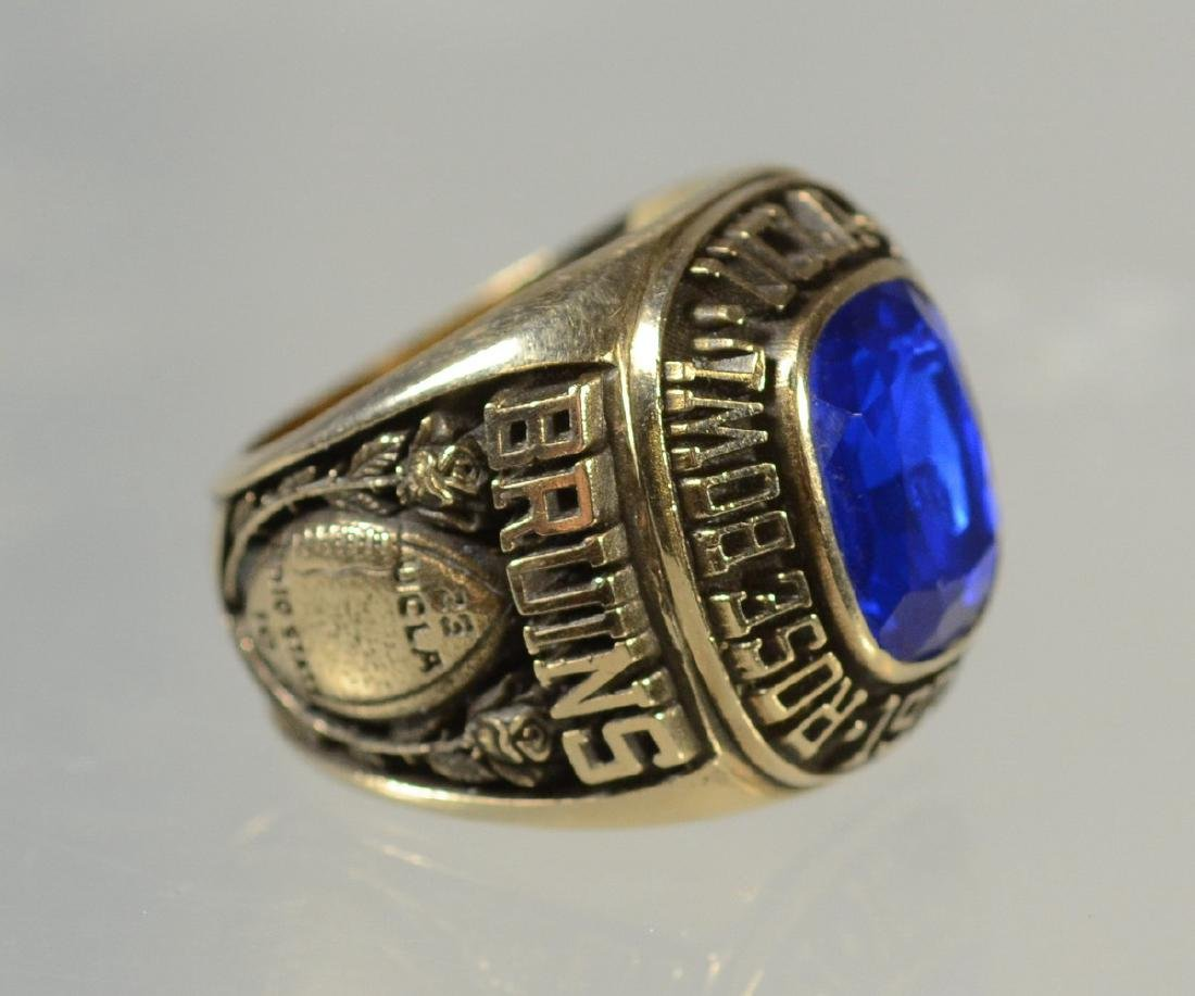 10K YG 1976 UCLA Rose Bowl Championship ring - 3