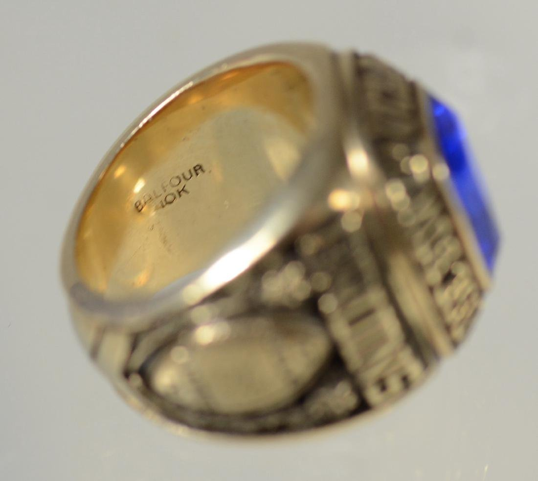 10K YG 1976 UCLA Rose Bowl Championship ring - 5