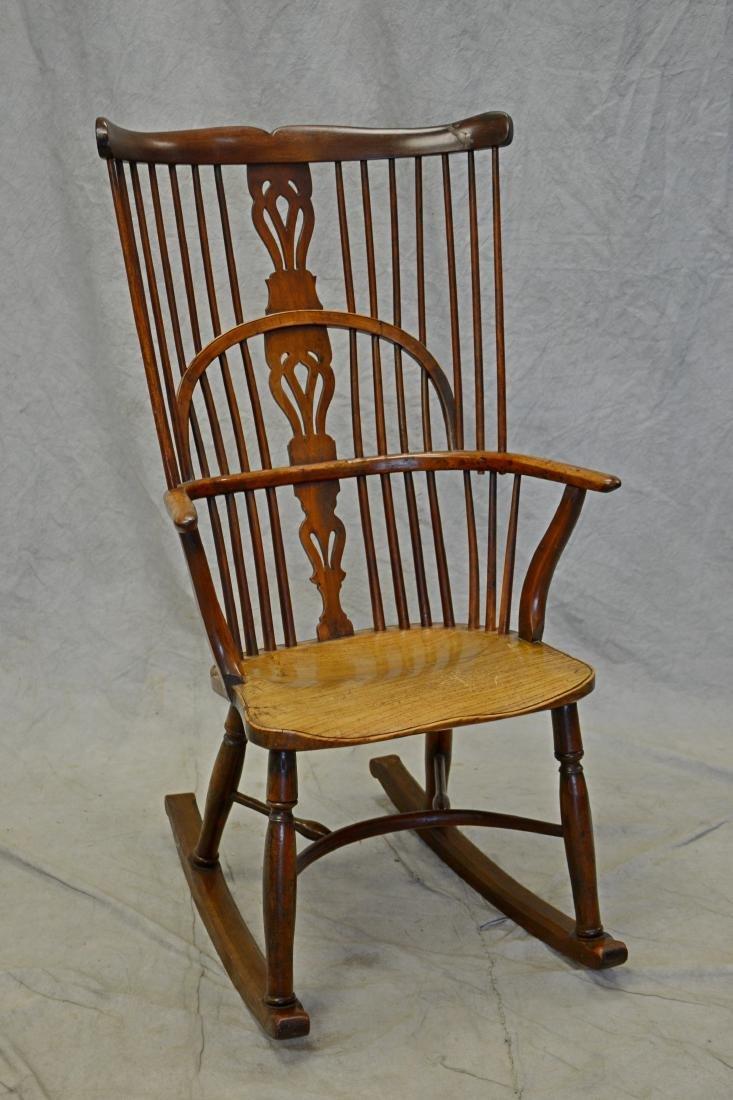 Elmwood English Windsor armchair