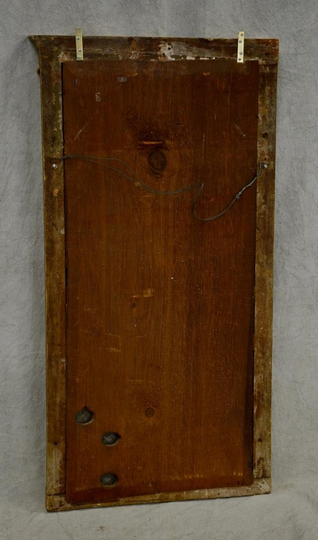 Gilt Classical eglomise mirror - 3