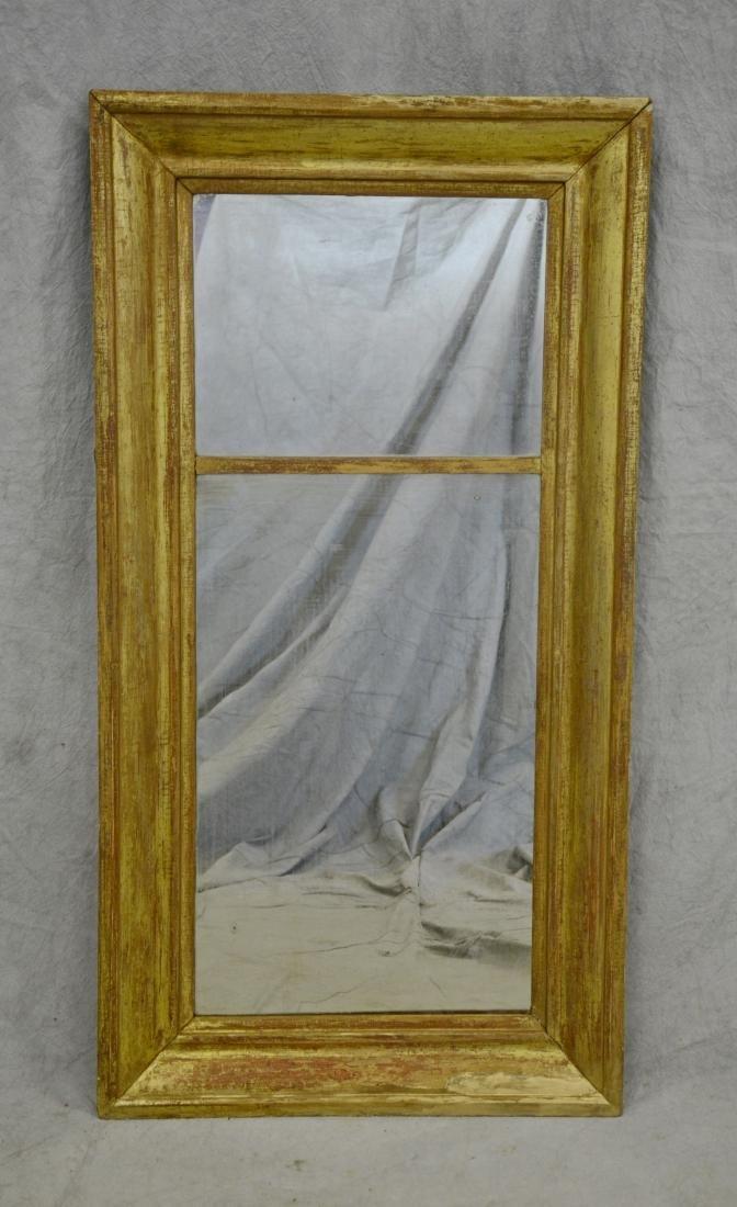 Gilt OGEE framed wall mirror
