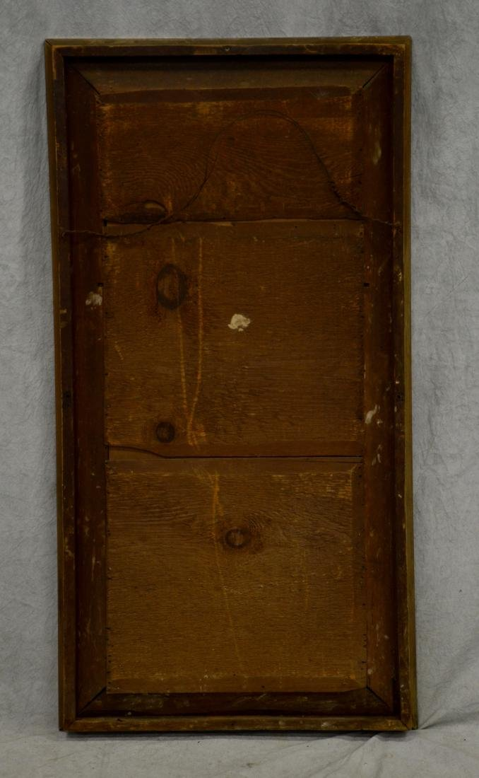 Gilt OGEE framed wall mirror - 2
