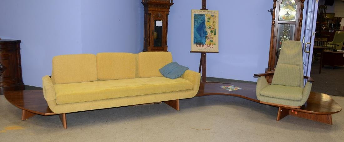 A Samson Berman sofa & lounge chair